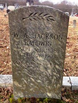 William A. <I>Jackson</I> Baldwin