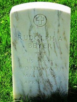 Rudolph A Beyer