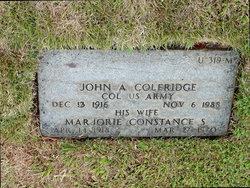 Marjorie Constance Coleridge