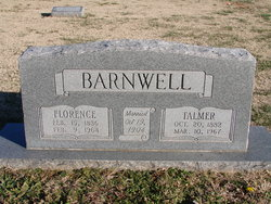 Florence <I>Stanfill</I> Barnwell
