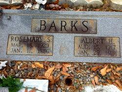Rosemary S Barks