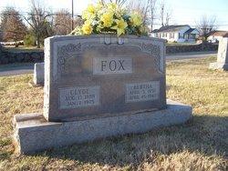 Bertha <I>Ashby</I> Fox