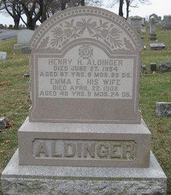 Emma E. <I>Wehler (Moul)</I> Aldinger