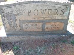 Ada A <I>Robeson</I> Bowers
