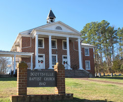 Scottsville Baptist Church Cemetery