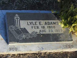 Lyle Ellsworth Adams