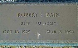"""Robert Lovvorn """"Doc"""" Bain"""