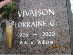 Lorraine Gertrude <I>Urlaub</I> Vivatson