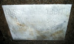Gussie Lee <I>Covington</I> Abbitt