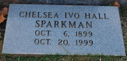 Chelsea Ivo <I>Hall</I> Sparkman