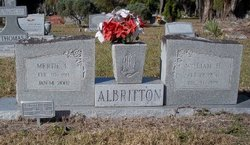 Mertie Lee <I>Taylor</I> Albritton
