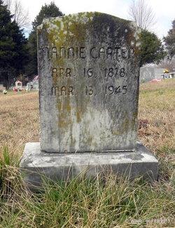Mrs Nancy Jane <I>Barrett</I> Carter