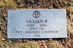 Lillian Belle <I>Pennell</I> Rodier