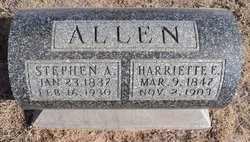 Harriette E Allen