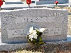 Margaret Frances <I>Wallis</I> Pierce