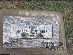 Hazle L. <I>Pittman</I> Hale