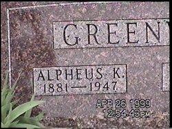 "Alpheus K. ""A.K."" Greenway"