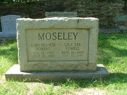 John Francis Robert Moseley