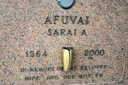 Sarai A Afuvai