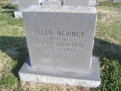 """Ellen """"Ella"""" <I>Deviney</I> Ledbetter"""