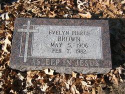 Evelyn <I>Pierce</I> Brown