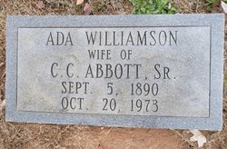 Ada <I>Williamson</I> Abbott