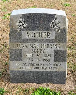 Lena Mae <I>Herring</I> Boney