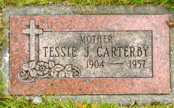 Tessie J. <I>Johnston</I> Carterby
