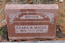 Clara Bertha <I>Huffman</I> Maule