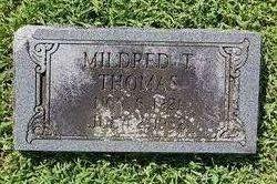 Mildred Terrell Thomas