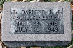 Darlene H Schuckenbrock
