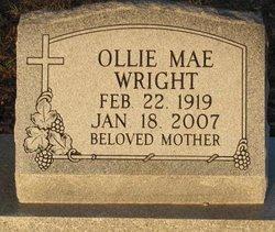 Ollie Mae Wright