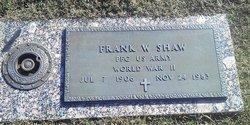Frank W Shaw