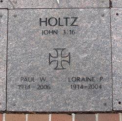 Loraine P Holtz