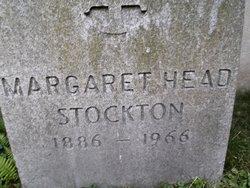 Margaret <I>Head</I> Stockton