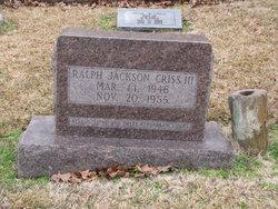 Ralph Jackson Criss, III