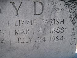 Lizzie <I>Parish</I> Loyd