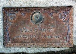 Lola E. <I>Thompson</I> Root