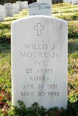 Willis J Moore, Jr