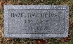 Hazel <I>Schmitt</I> Haught Davis