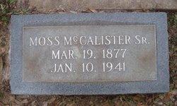 Moss McCalister, Sr
