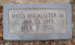 Moss McCalister, Jr