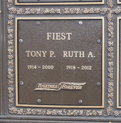 Ruth Agnes <I>Stead</I> Fiest