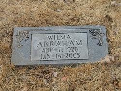 Wilma V <I>Adams</I> Abraham