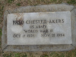 Fred Chester Akers
