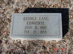 George Lang Converse