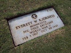 Everett W Kjorness