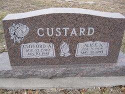 Clifford Arthur Custard