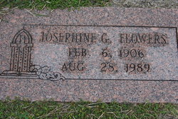 Josephine <I>Gallegos</I> Flowers