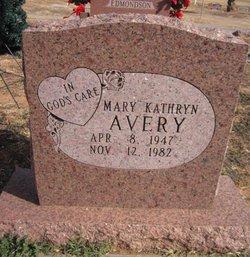Mary K. <I>Edmondson</I> Avery
